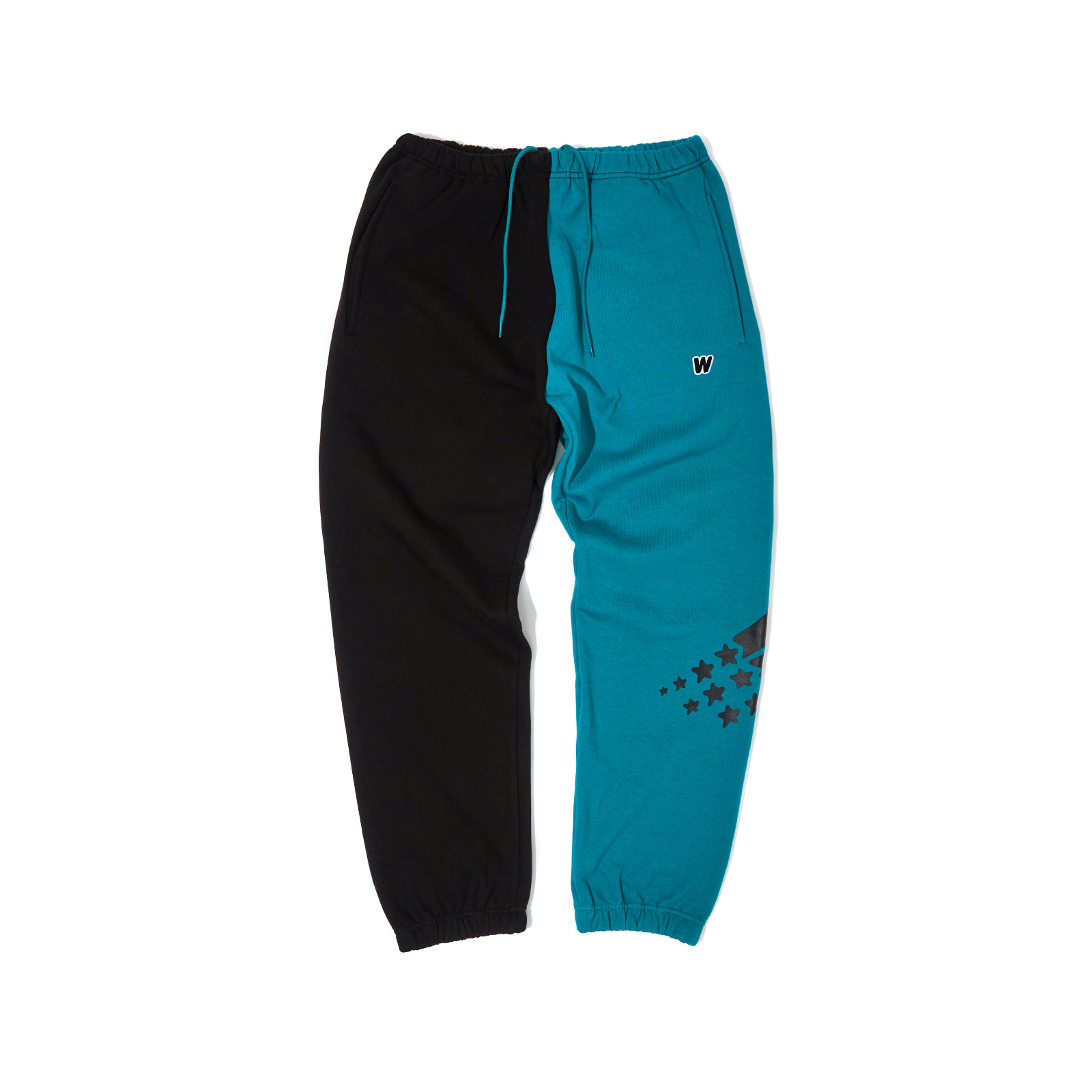 2-TONE SWEAT PANTS (GREEN)