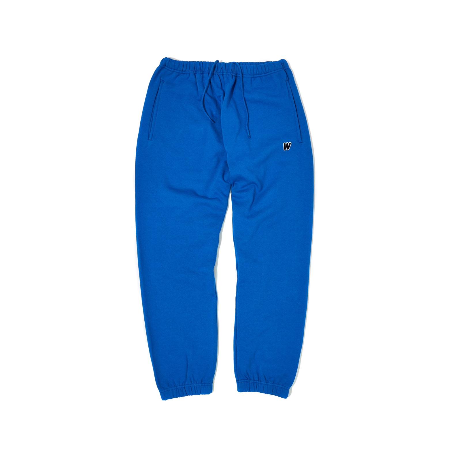 W LOGO SWEAT PANTS (BLUE)