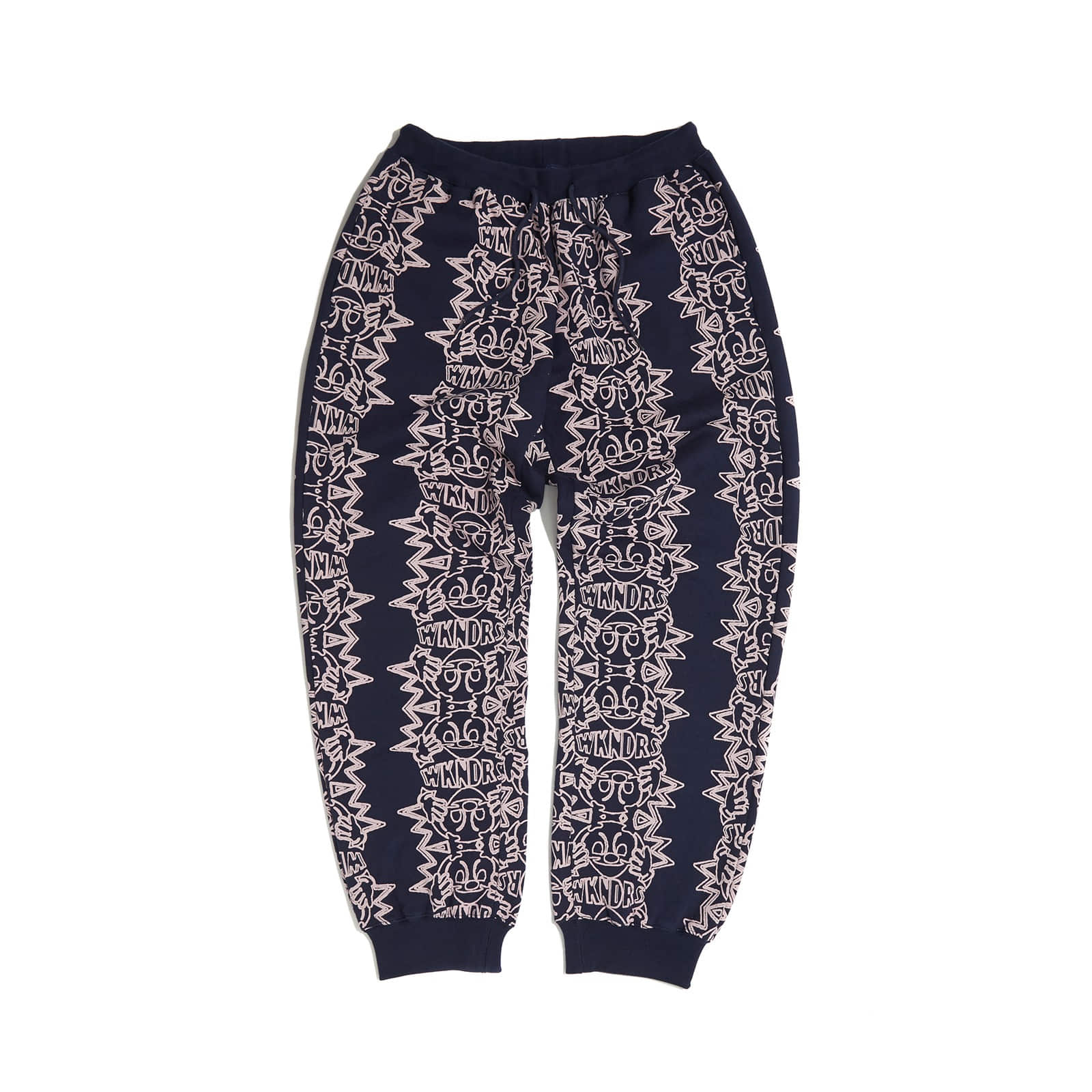 SMILE SWEAT PANTS (NAVY)