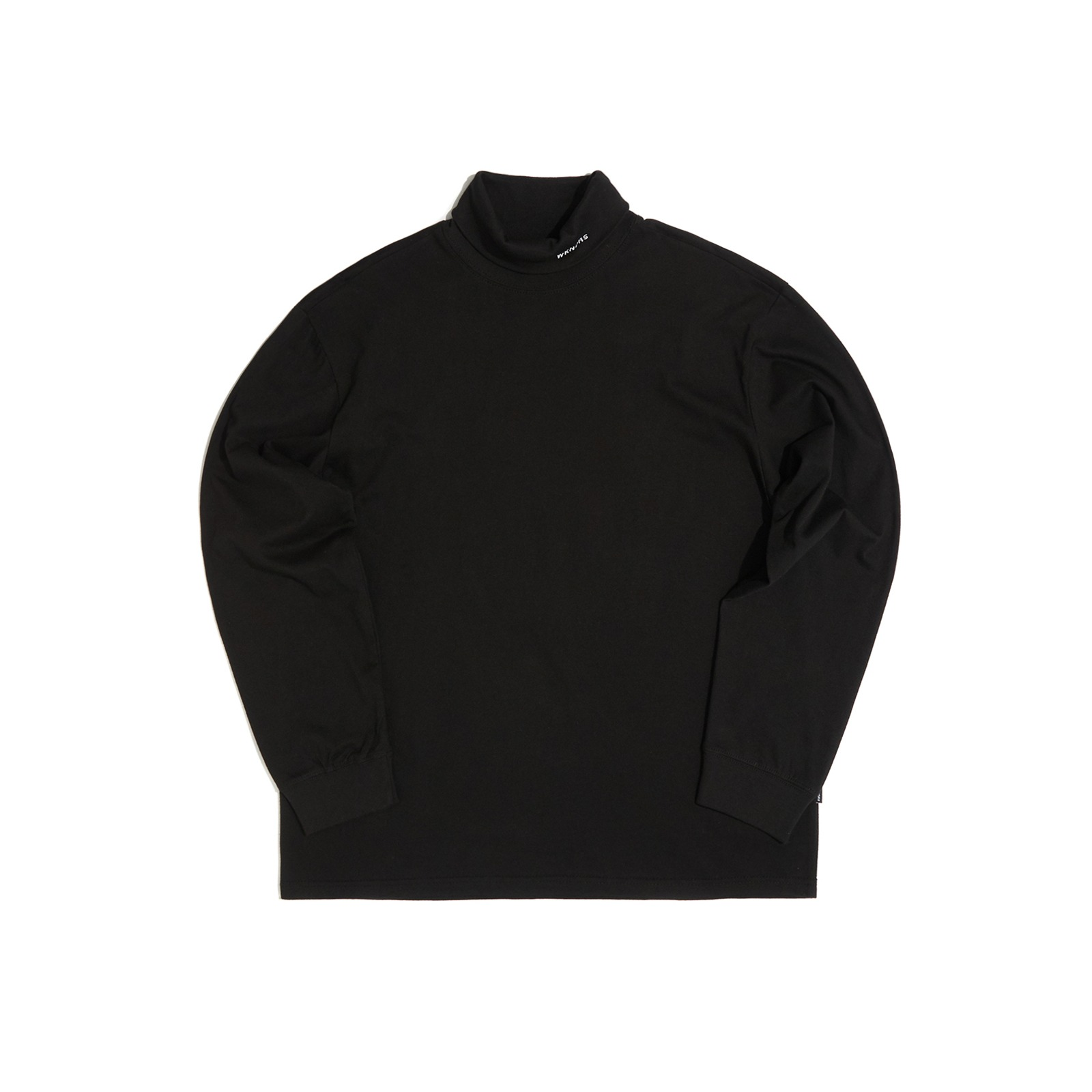 LONG SLEEVE TURTLE NECK (BLACK)[9/28 예약배송]