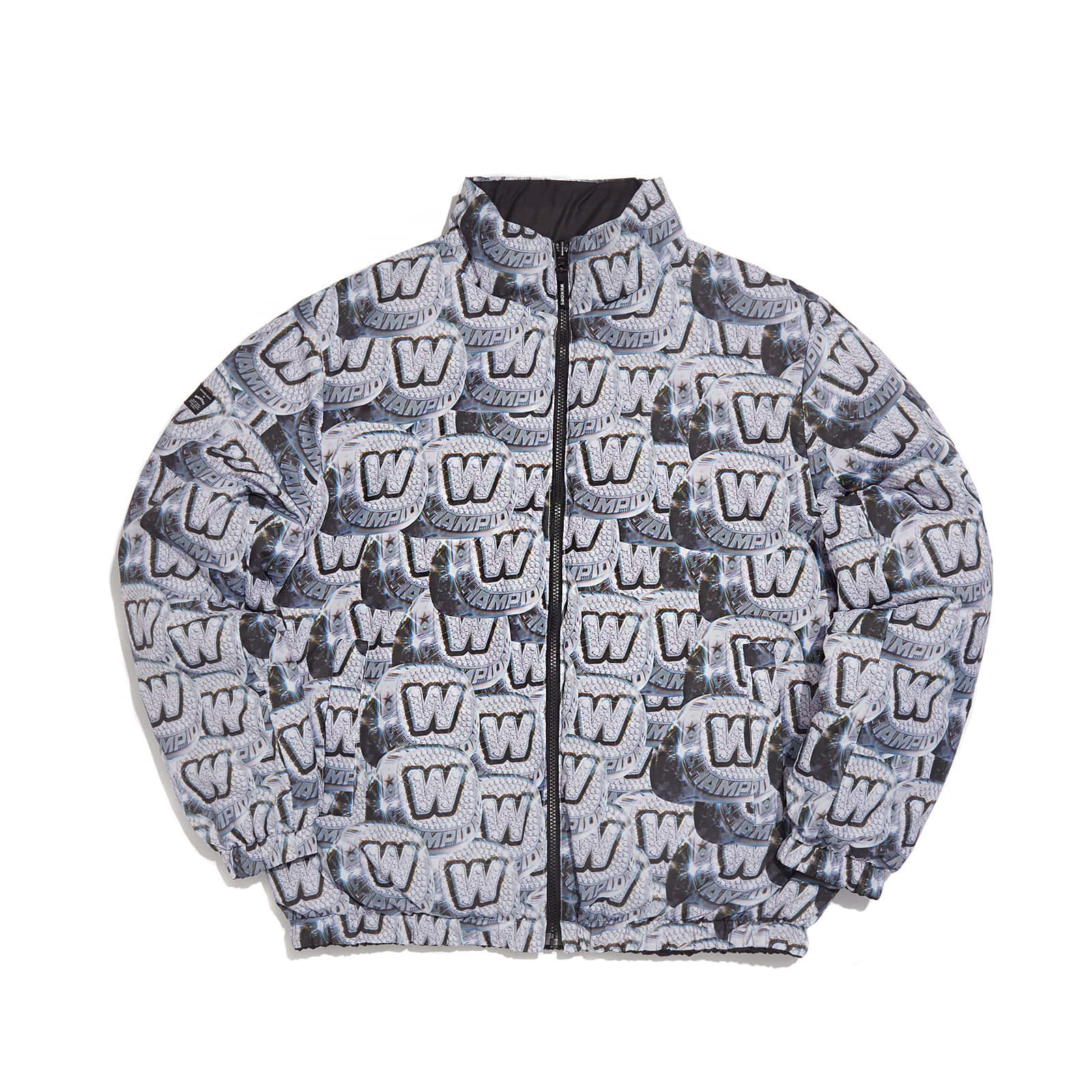 REVERSIBLE PADDED JACKET (BLACK)