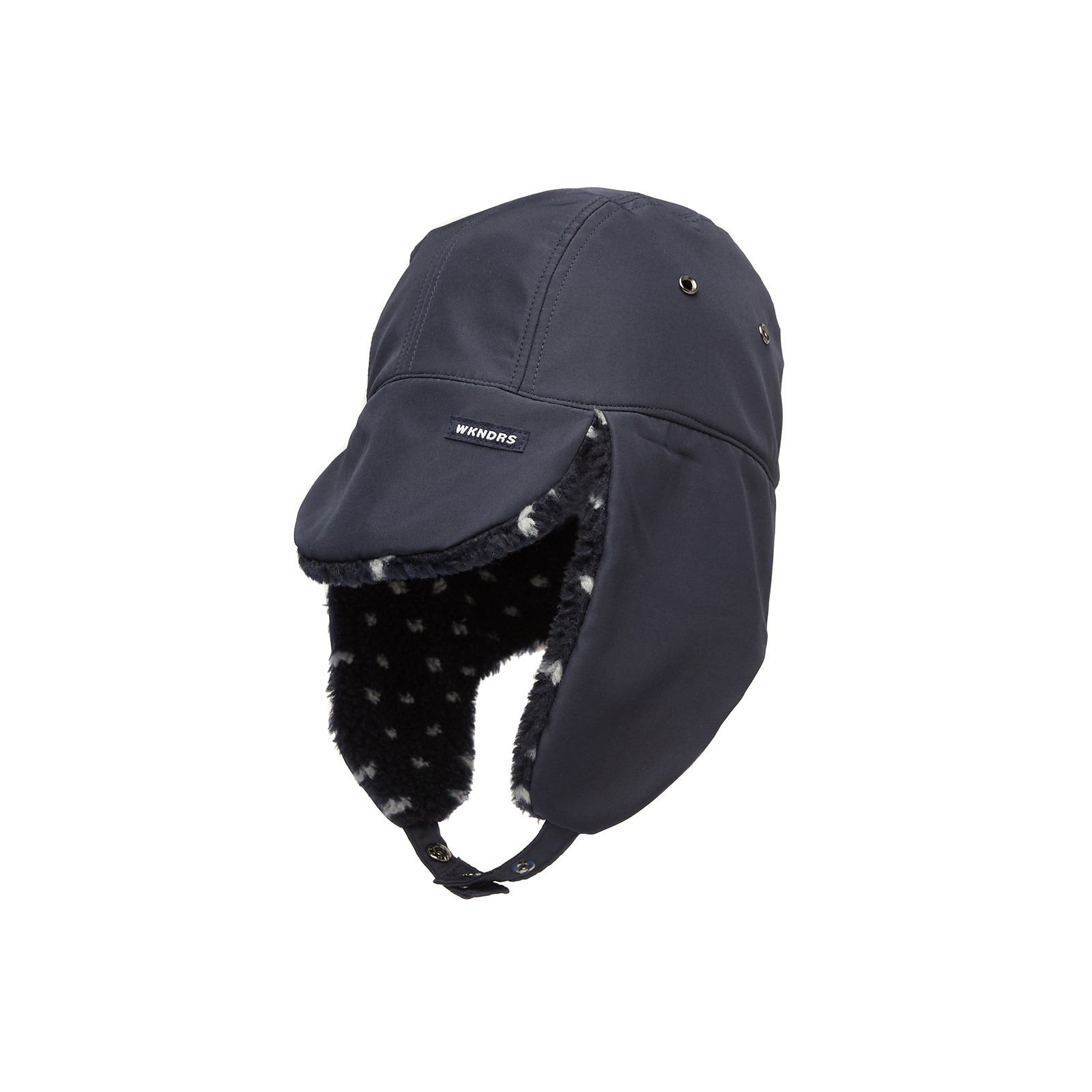 REVERSIBLE EAR MUFFS CAP (NAVY)