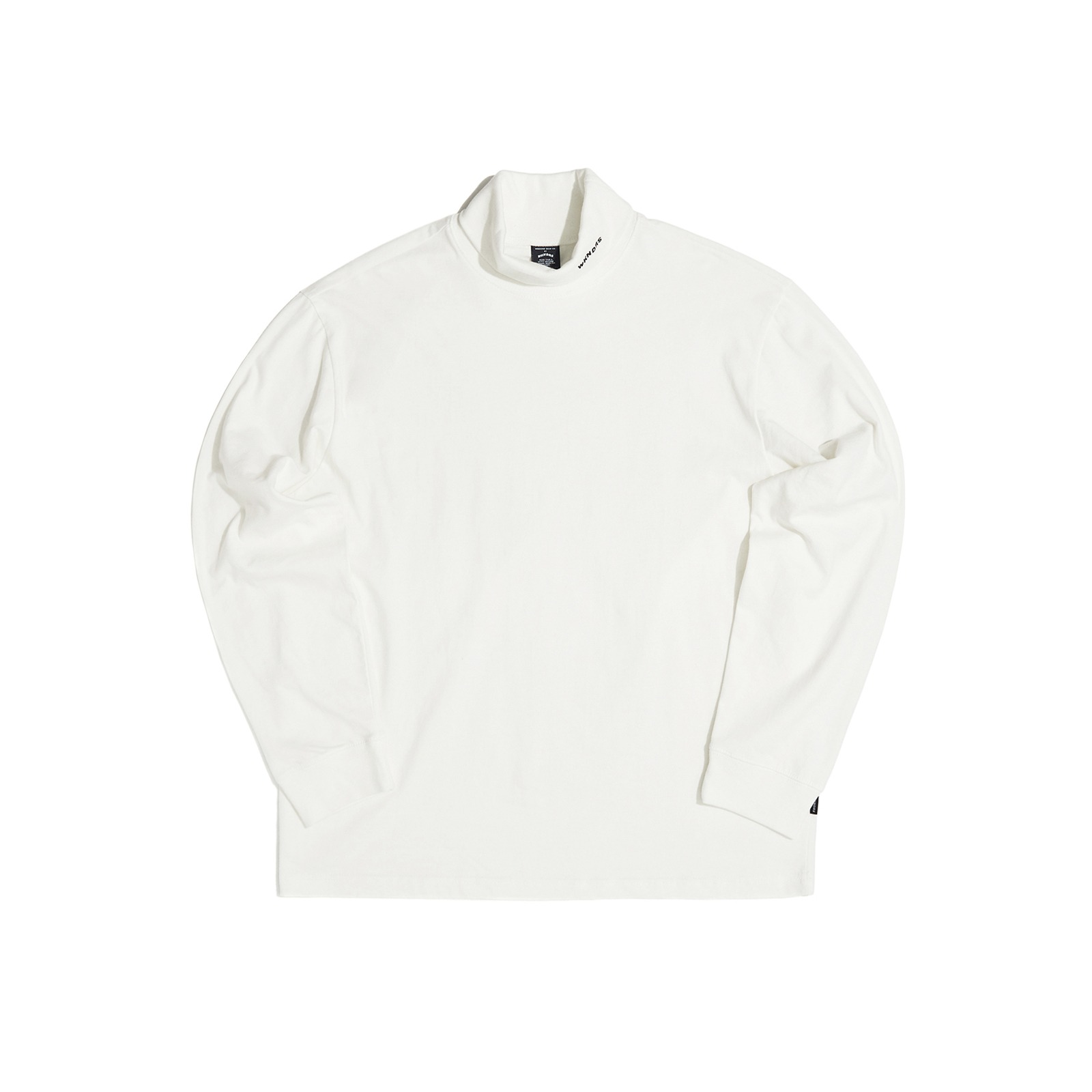 LONG SLEEVE TURTLE NECK (WHITE)[9/28 예약배송]