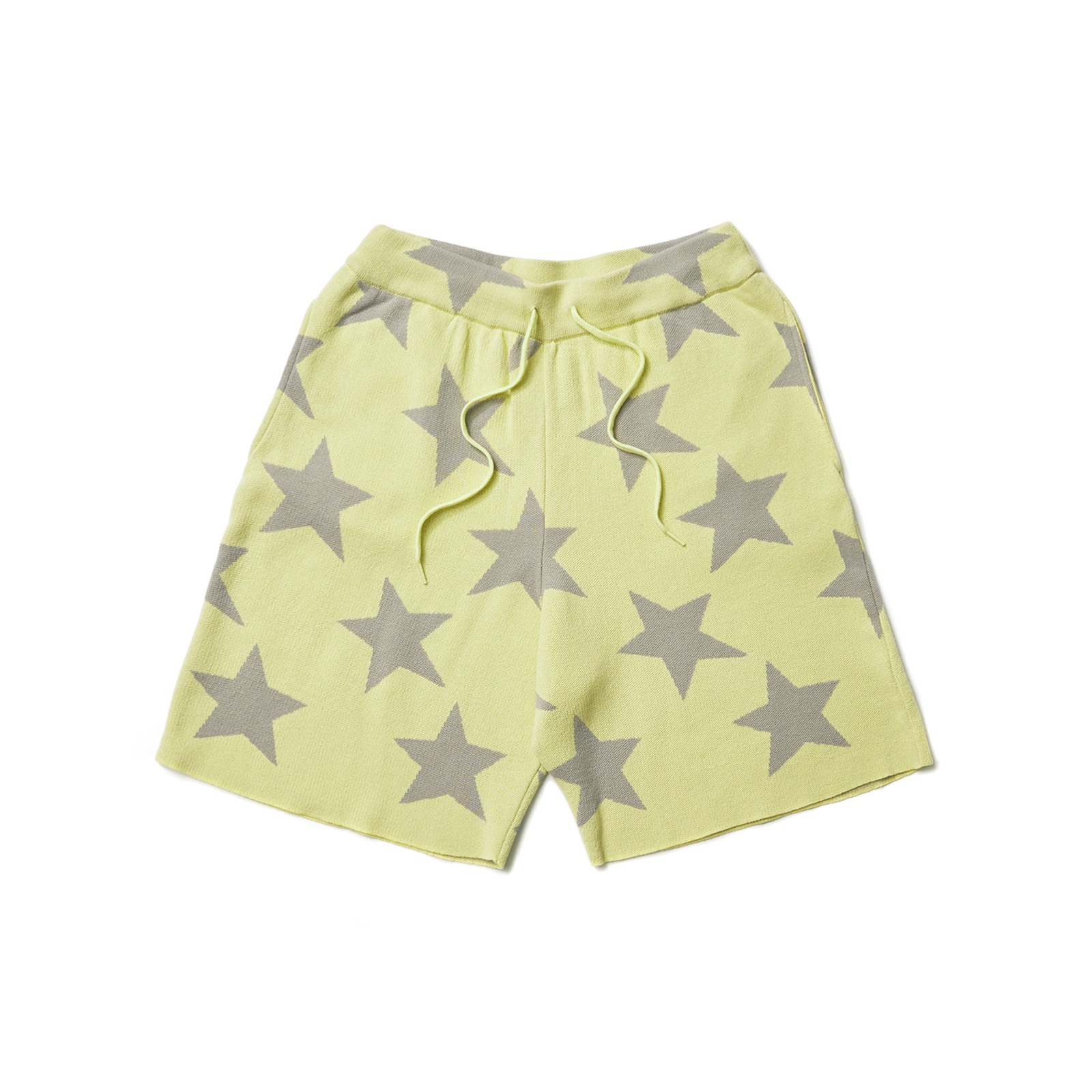 KNITTED STAR SHORT (YELLOW)
