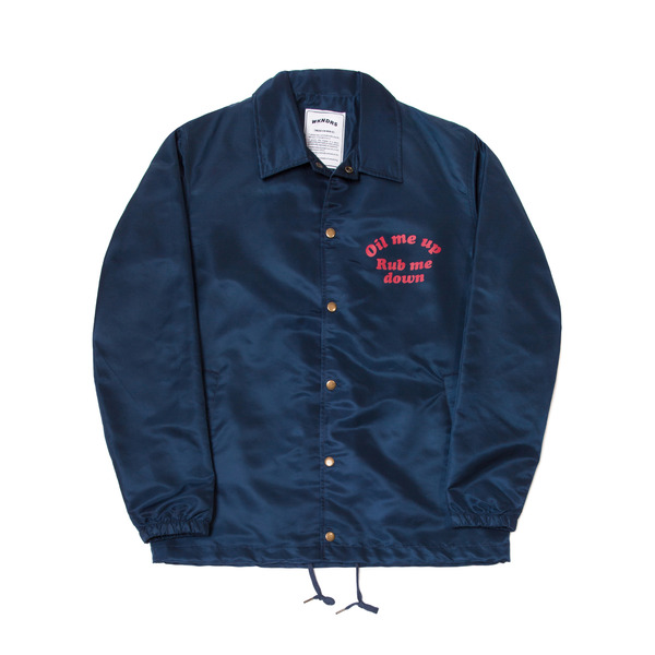WENDY COACH JACKET (NAVY)