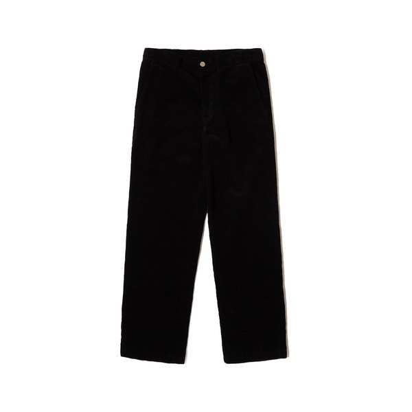 CORDUROY PANTS (BLACK)