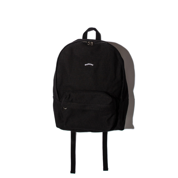 WAVY LOGO BACKPACK (BLACK)