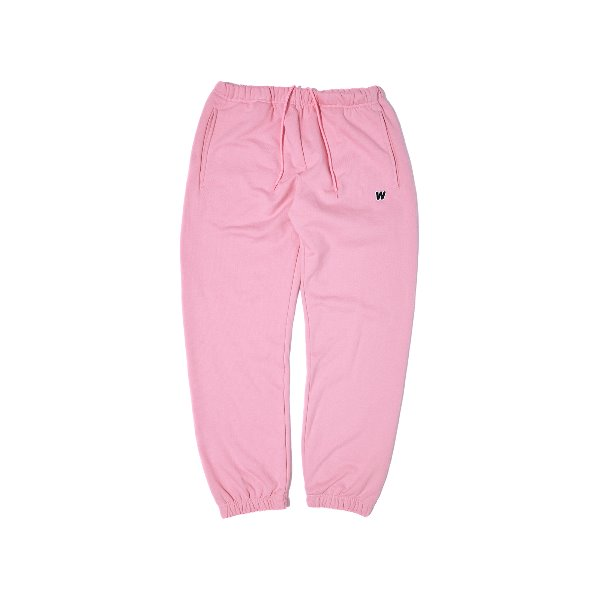 W LOGO SWEAT PANTS (PINK)