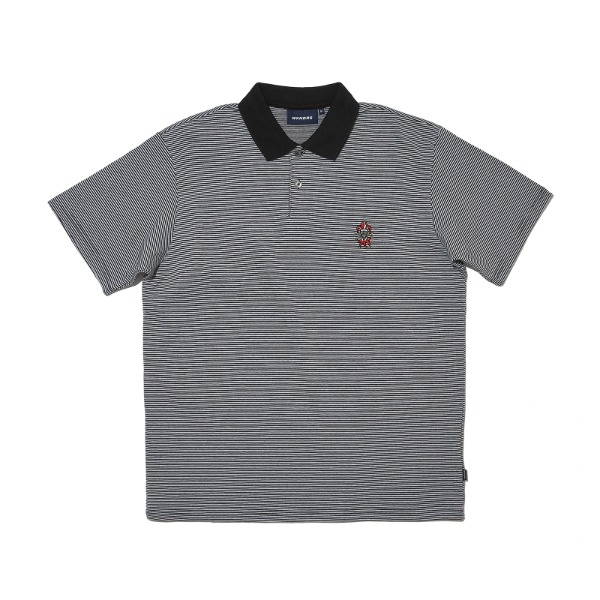 PIERROT SS POLO SHIRT (WHITE)