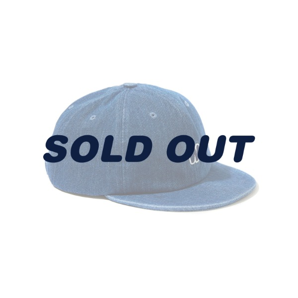 W LOGO CAP (DENIM)