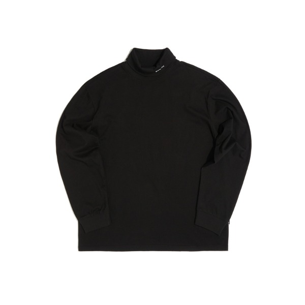 LONG SLEEVE TURTLE NECK (BLACK)