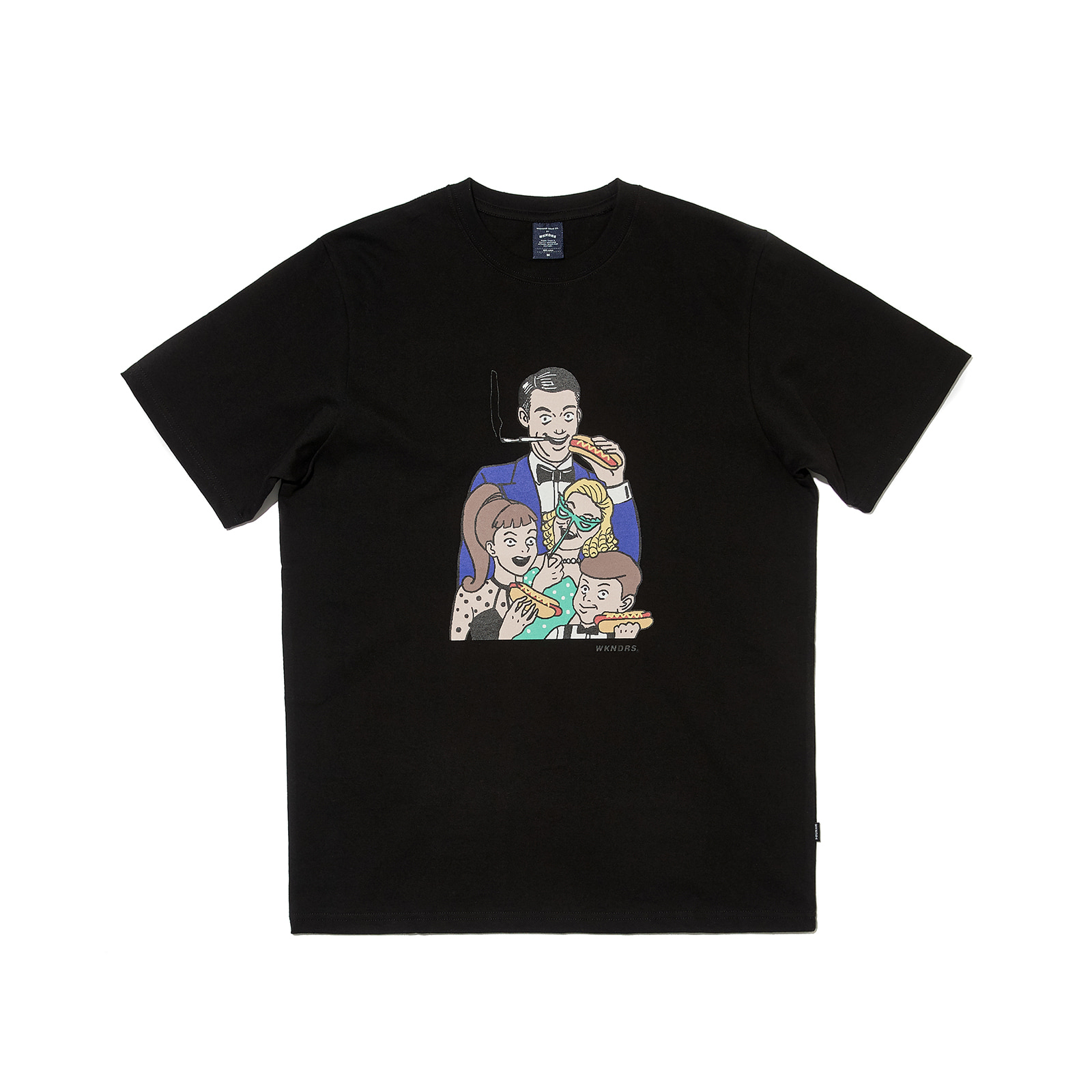 VEGAS FAMILY SS T-SHIRT (BLACK)