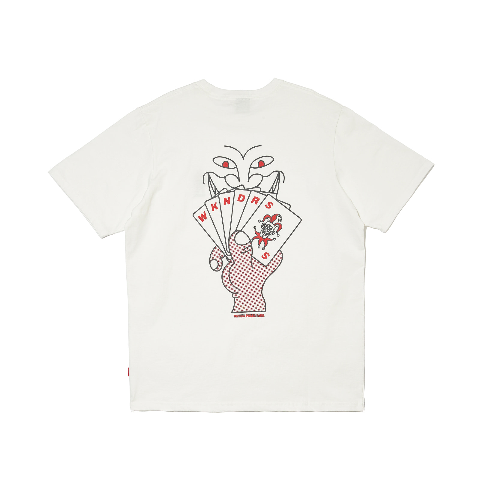POKER SS T-SHIRT (WHITE)