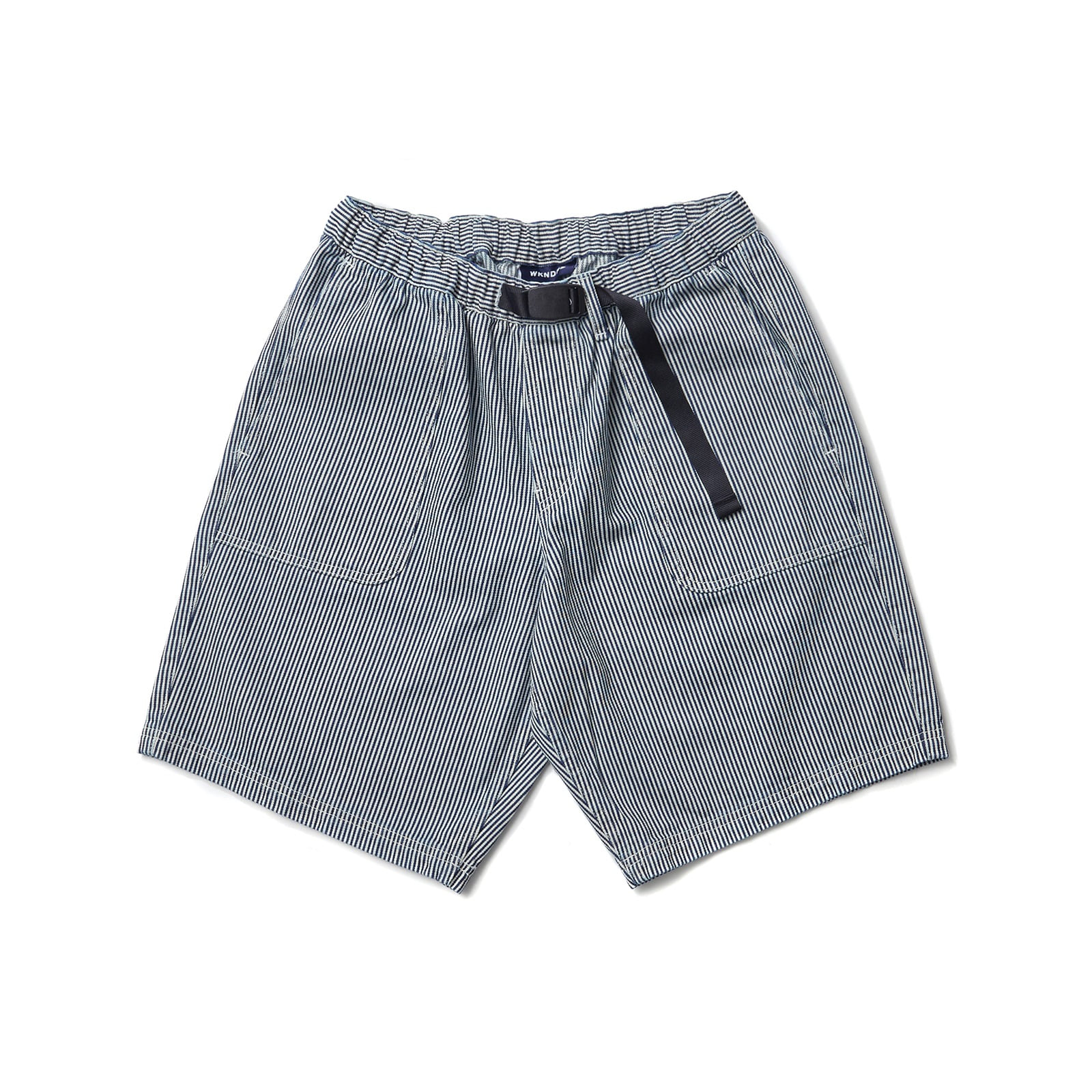 OUTPOCKET DENIM SHORTS (WHITE)