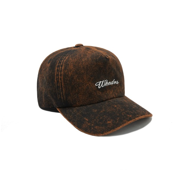 SNOW WASH CAP (BLACK)