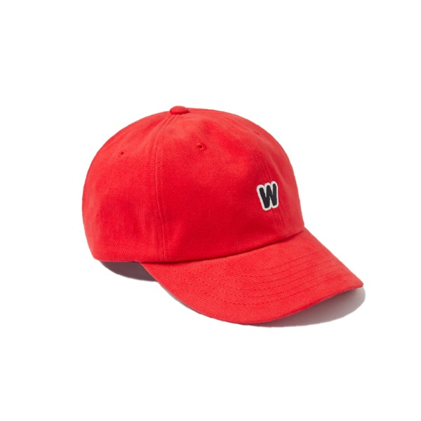 W LOGO CAP (RED)
