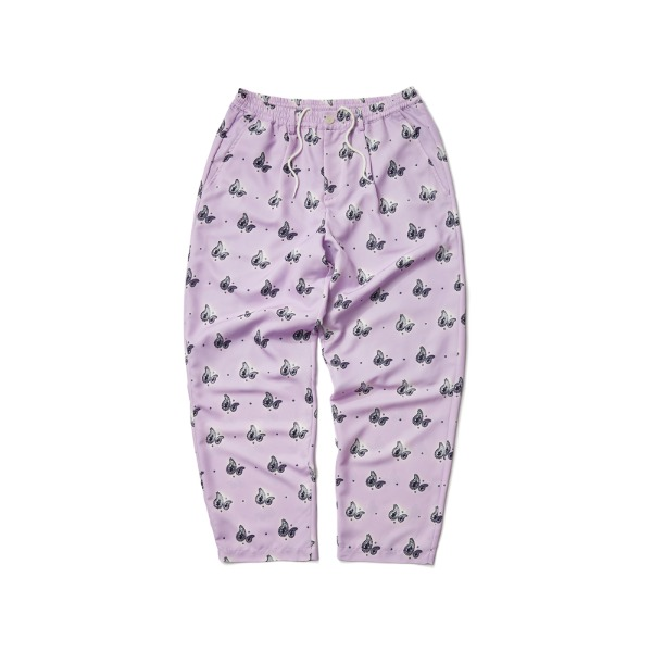 PAISLEY  EASY PANTS (L.PURPLE)
