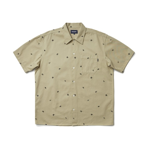 CURRENCY WORK SHIRT (BEIGE)