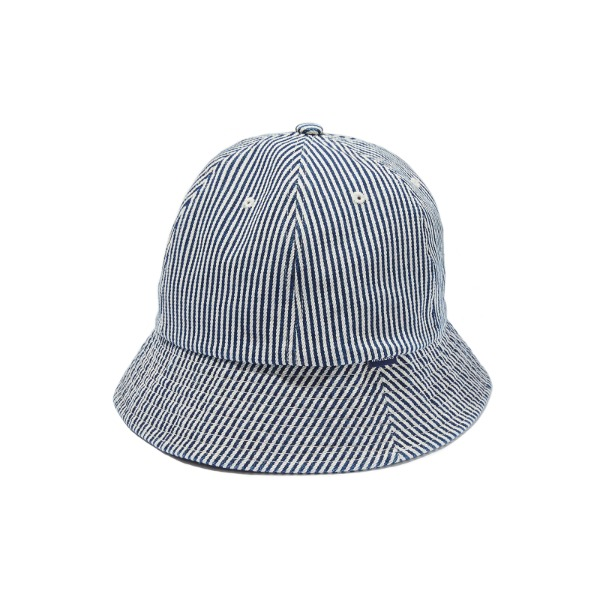 DENIM BUCKET HAT (NAVY)