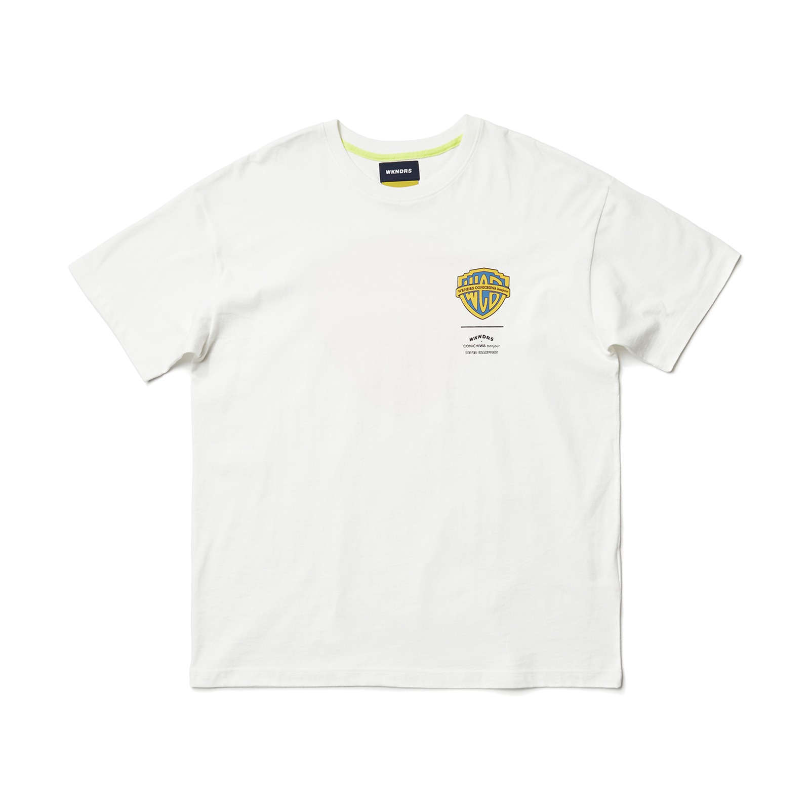 WCB SS T-SHIRT (YELLOW)
